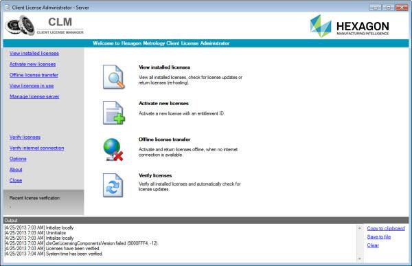 Updating Floating Licenses on Local License Server